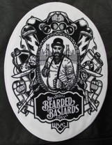 the bearded bastards, broderie heavy metal, heavy metal
